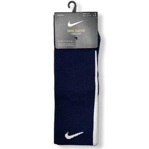 Nike Vapor Dri-Fit Knee High Football Socks Blue